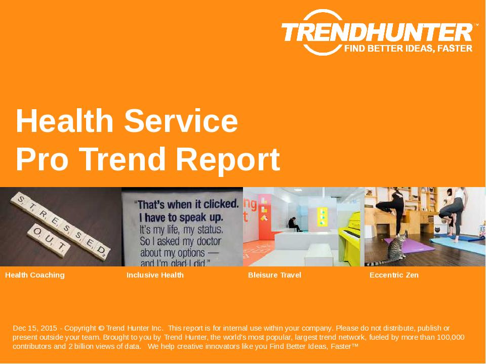 Health Service Trend Report Research