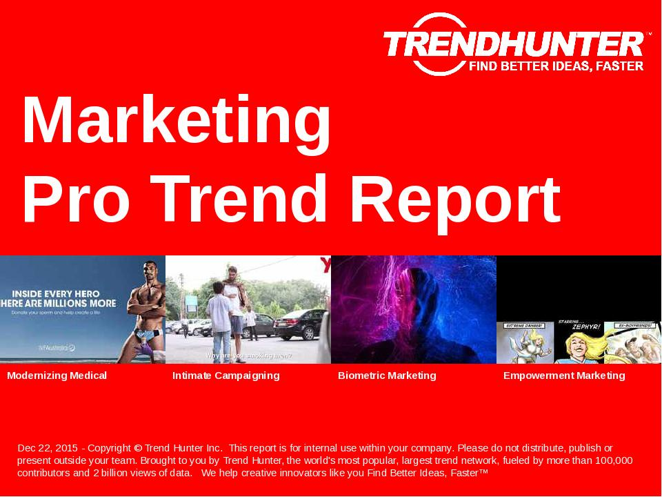 Marketing Trend Report Research