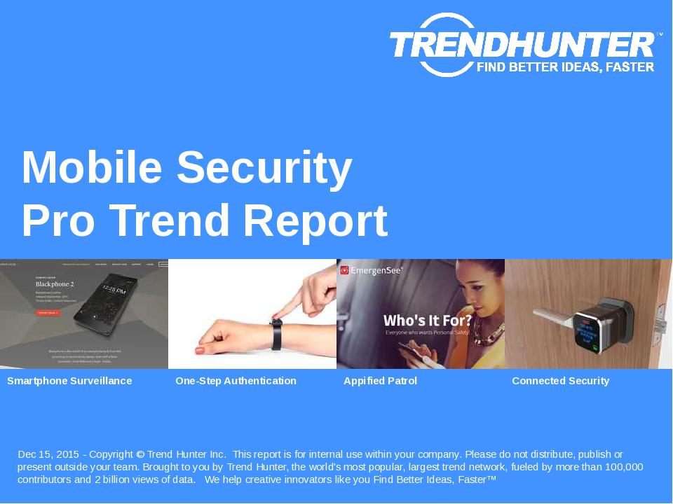 Mobile Security Trend Report Research