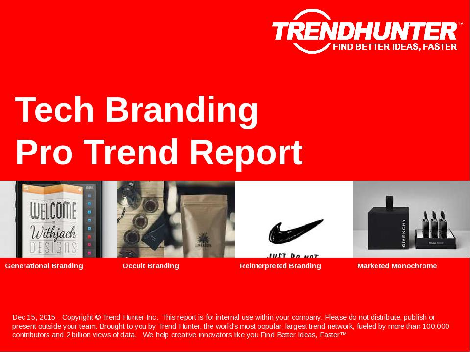 Tech Branding Trend Report Research