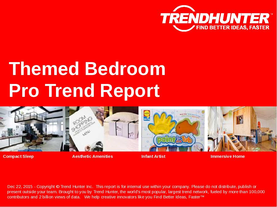 Themed Bedroom Trend Report Research
