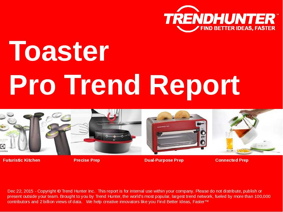 Toaster Trend Report Research