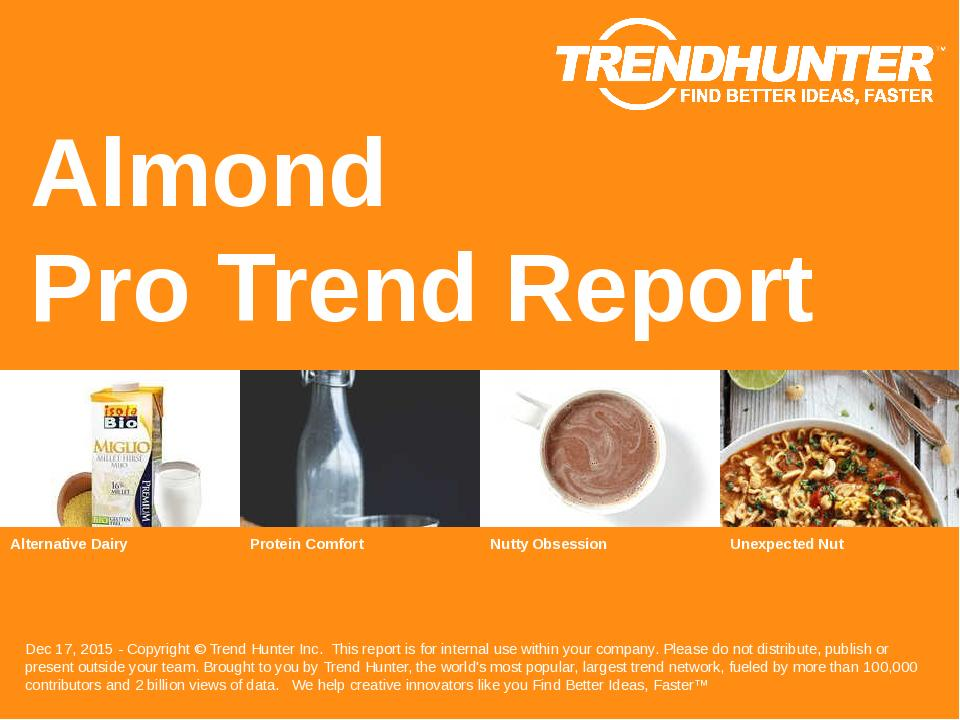 Almond Trend Report Research