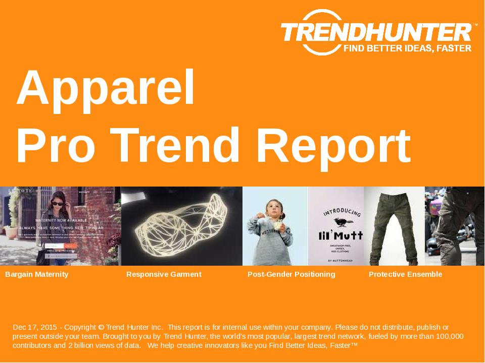 Apparel Trend Report Research