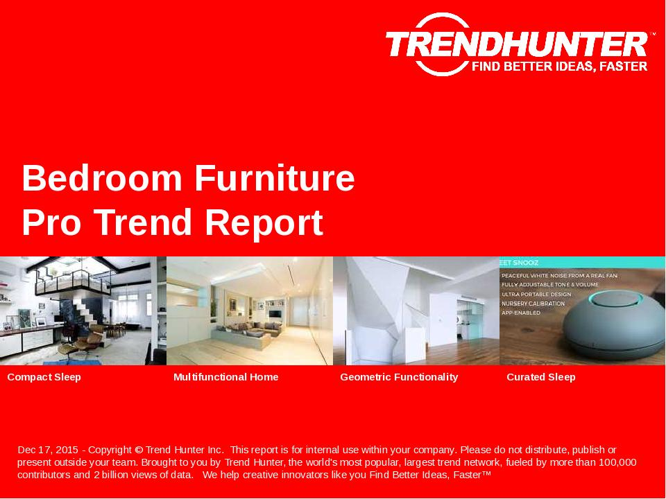Bedroom Furniture Trend Report Research