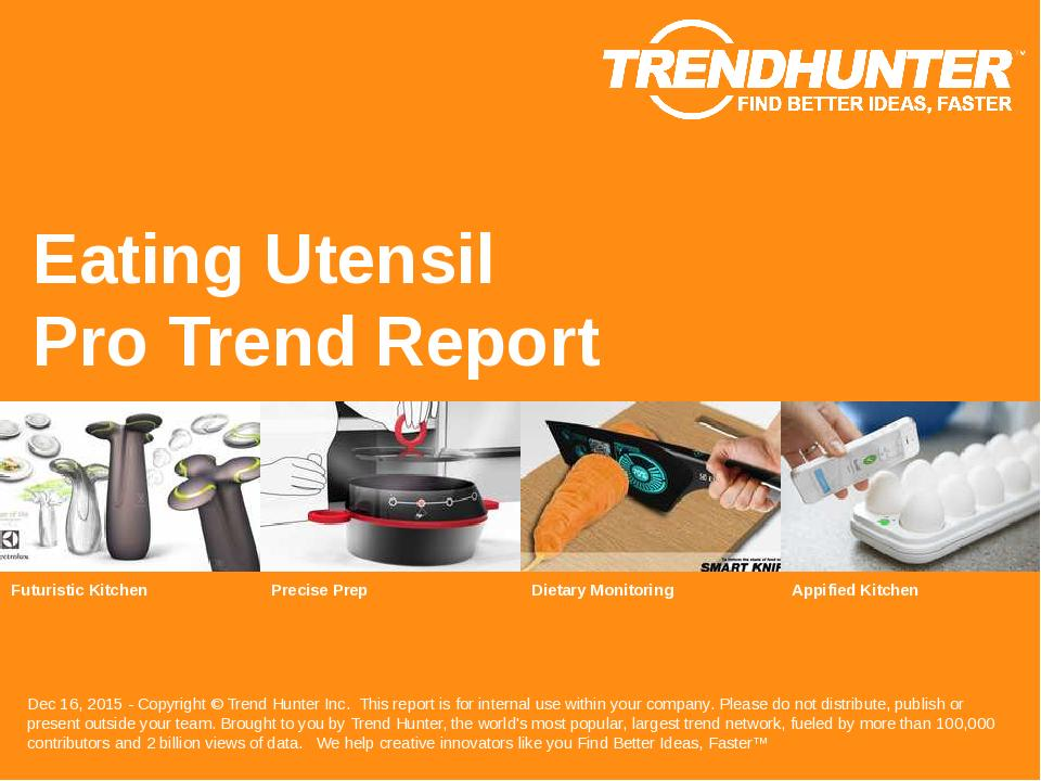 Eating Utensil Trend Report Research