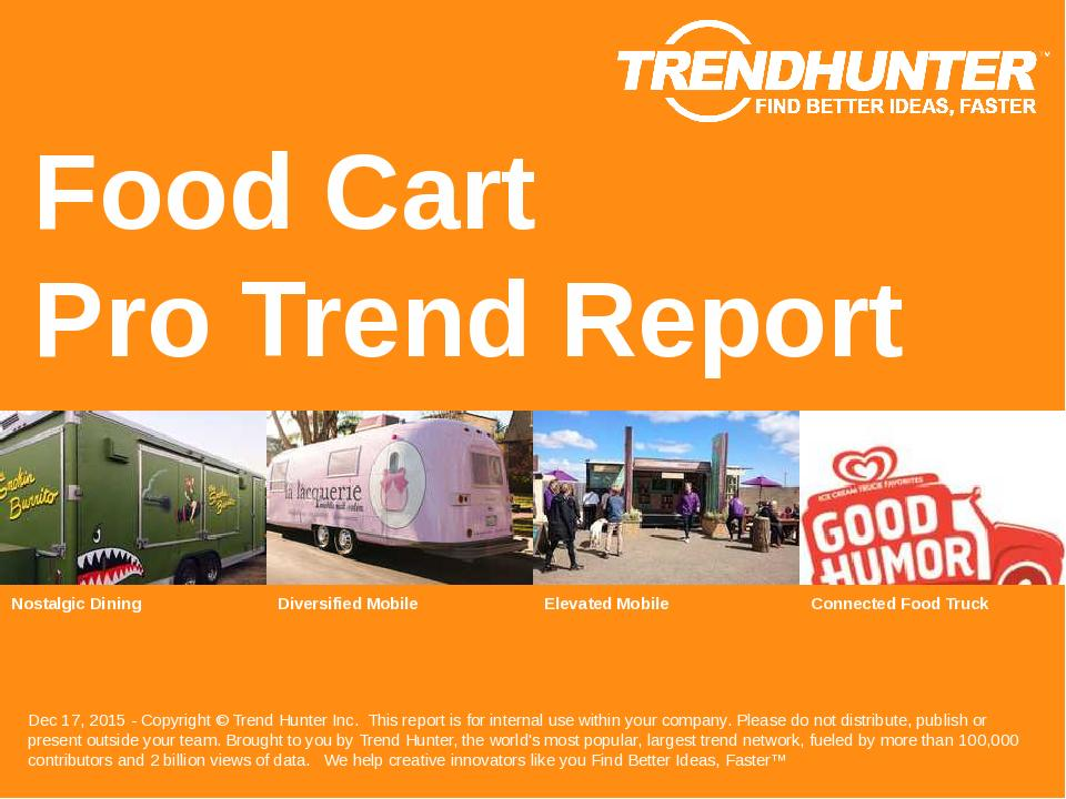 Food Cart Trend Report Research