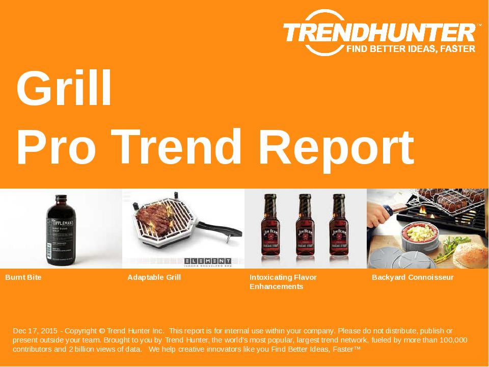 Grill Trend Report Research