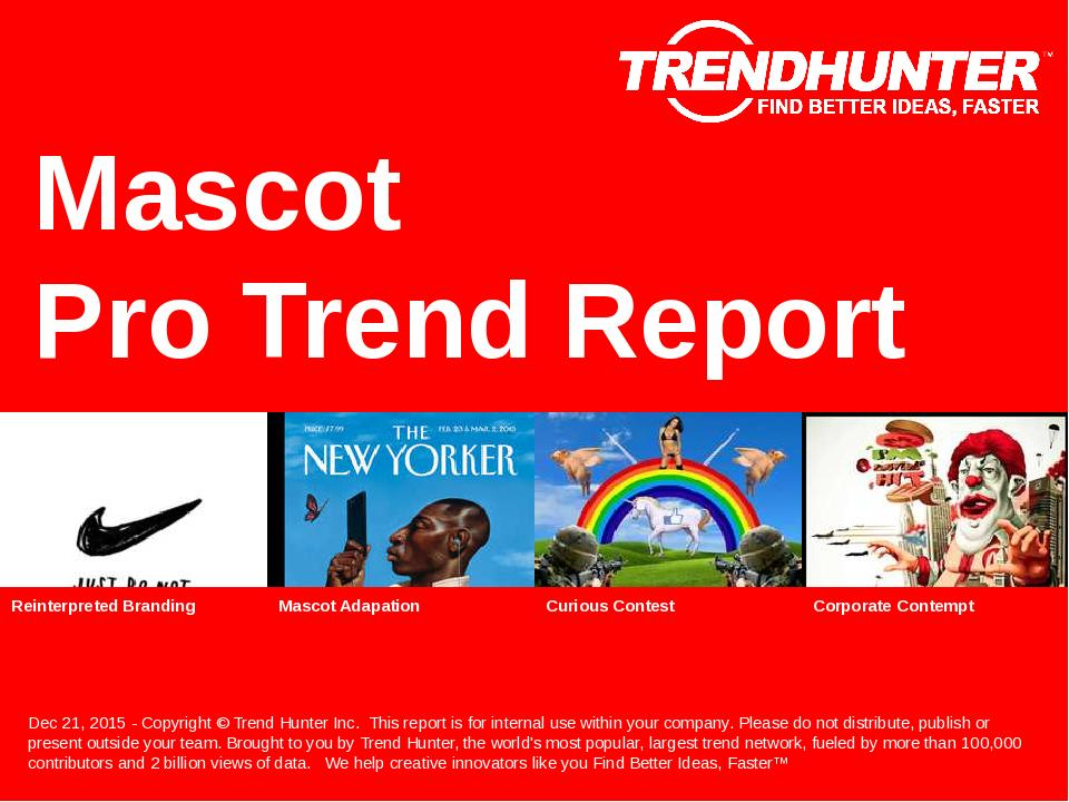 Mascot Trend Report Research