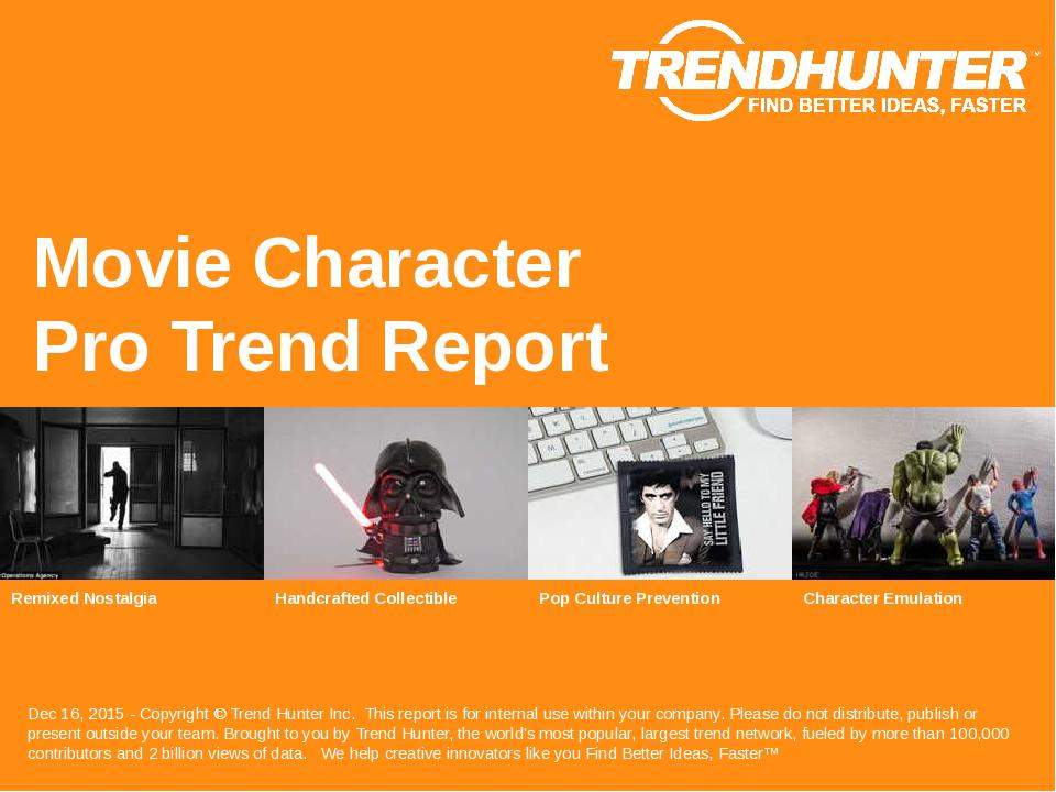 Movie Character Trend Report Research