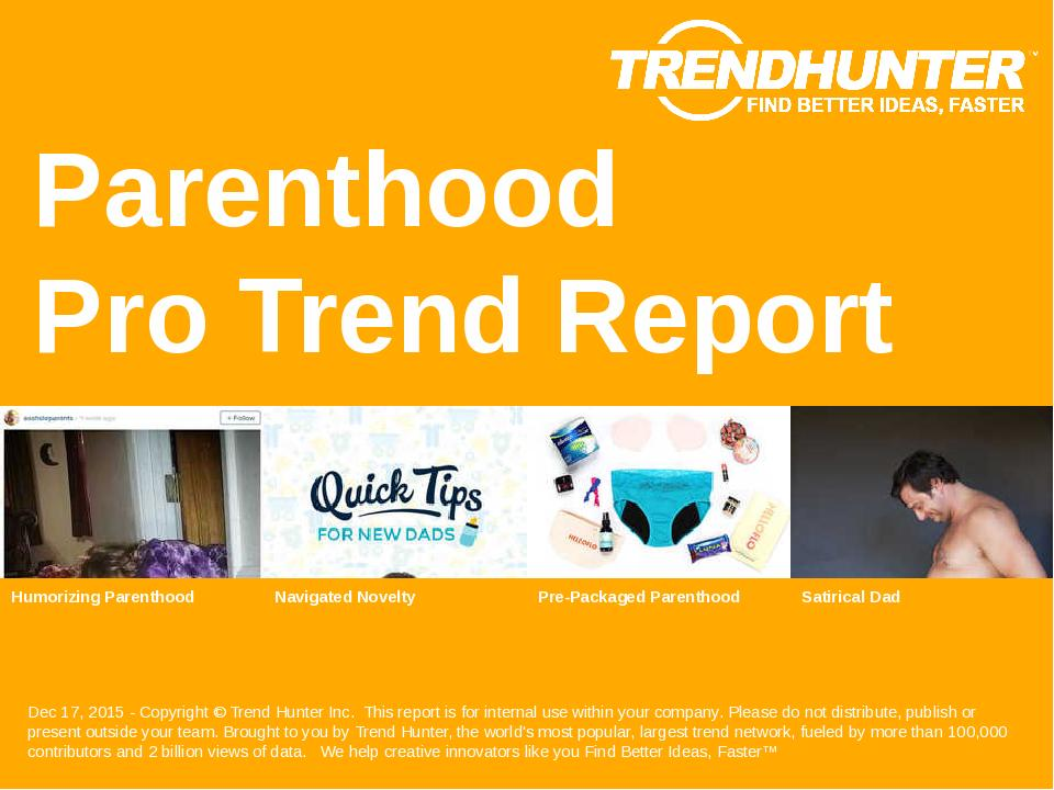 Parenthood Trend Report Research
