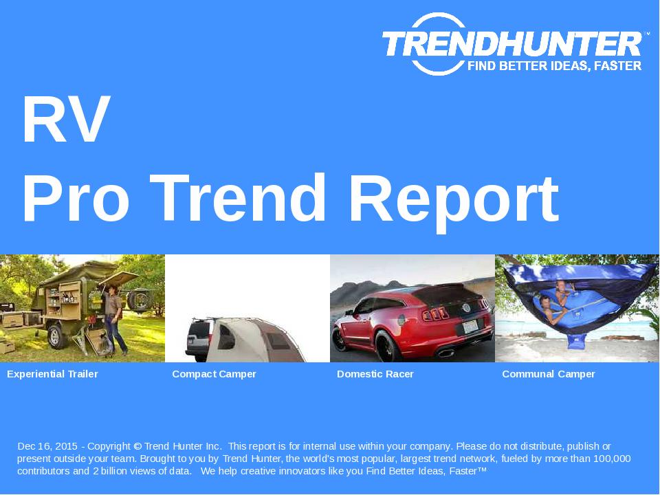 RV Trend Report Research
