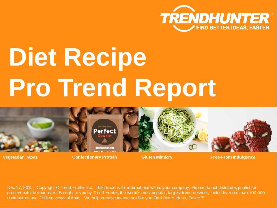 Diet Recipe Trend Report Research