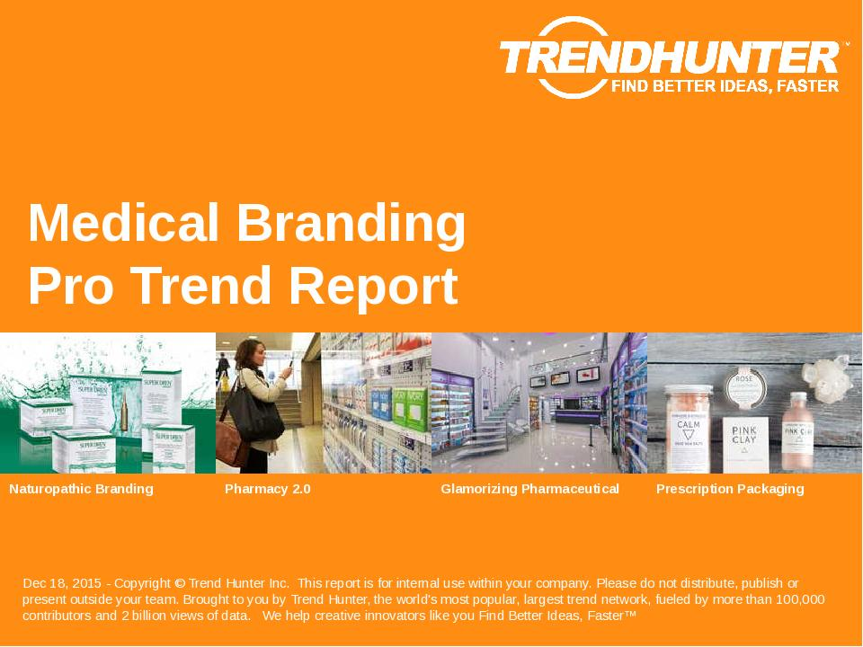 Medical Branding Trend Report Research