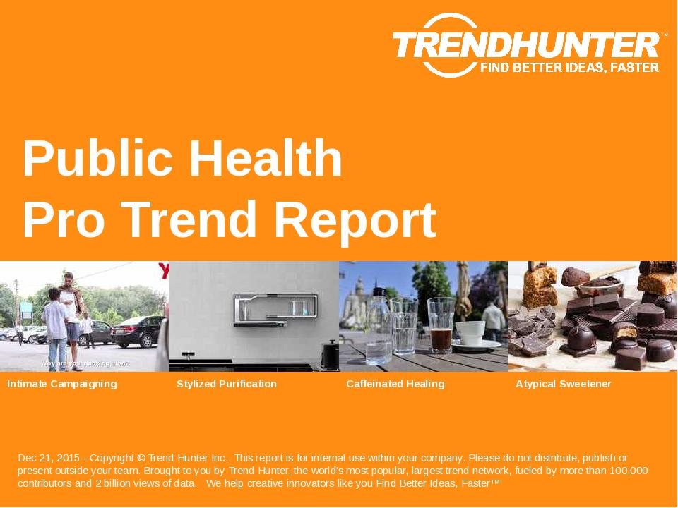 Public Health Trend Report Research