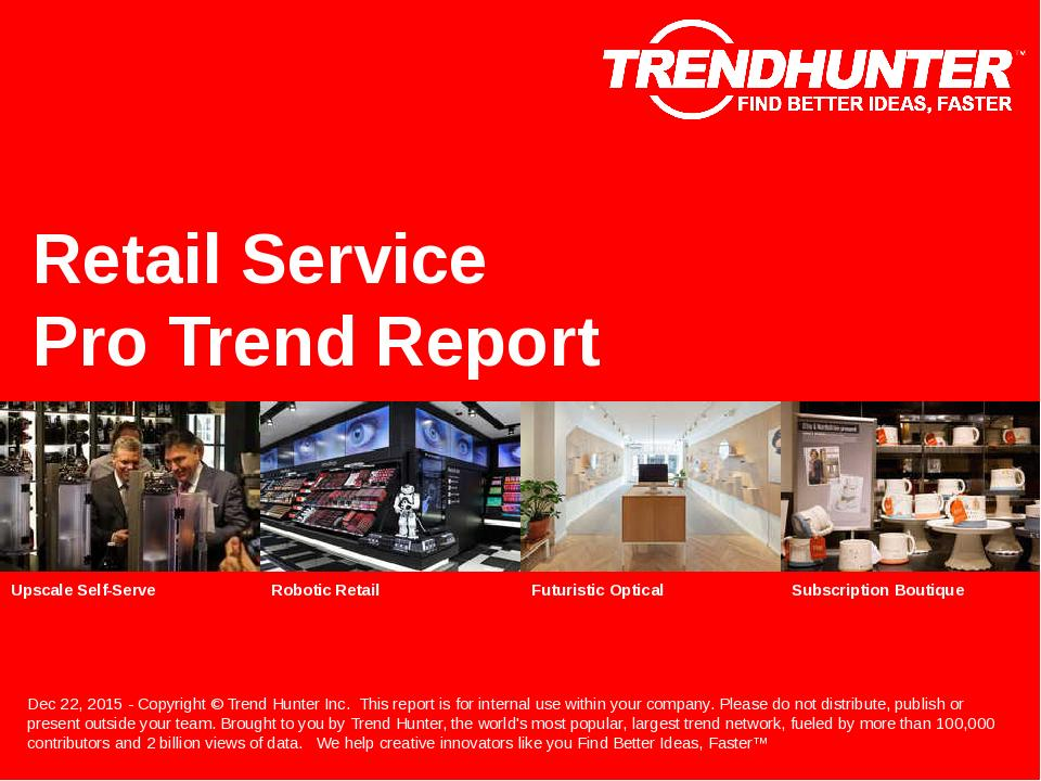 Retail Service Trend Report Research