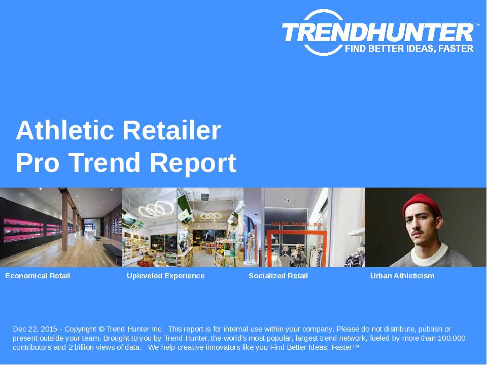 Athletic Retailer Trend Report Research