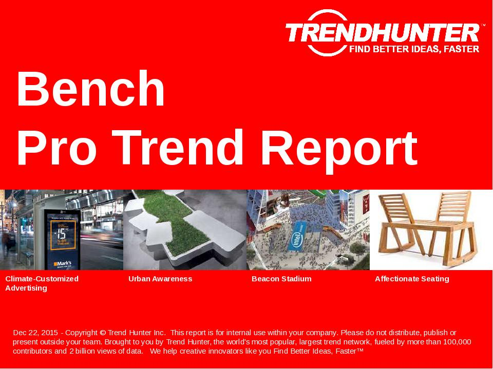Bench Trend Report Research