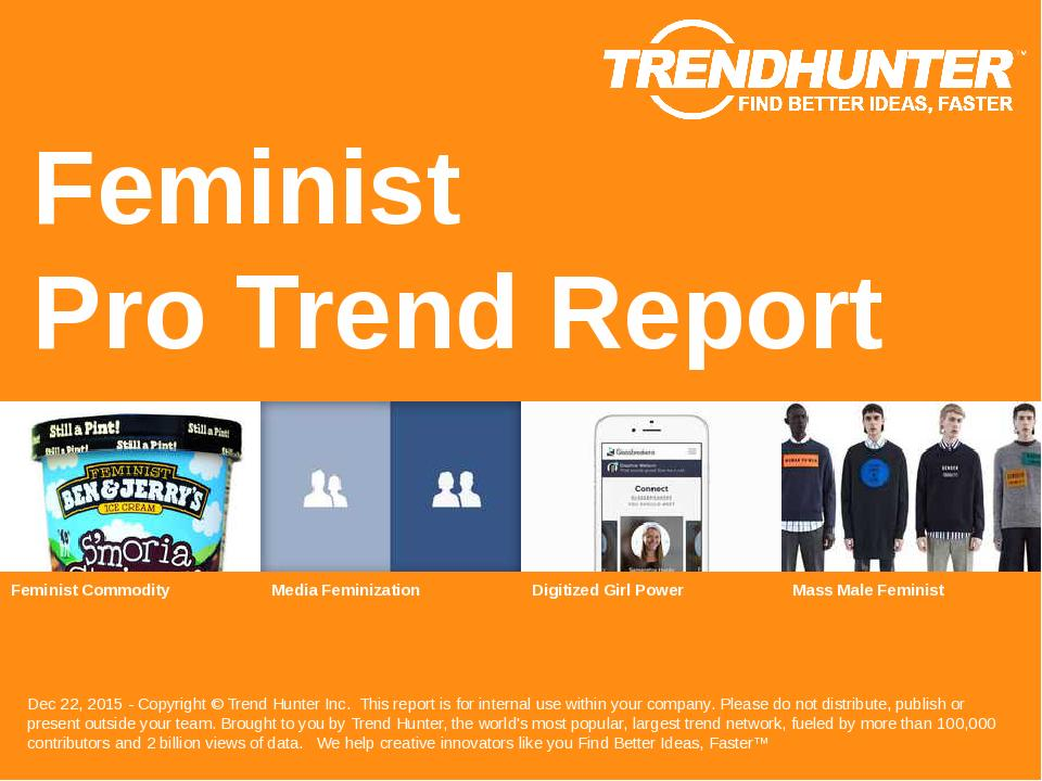Feminist Trend Report Research