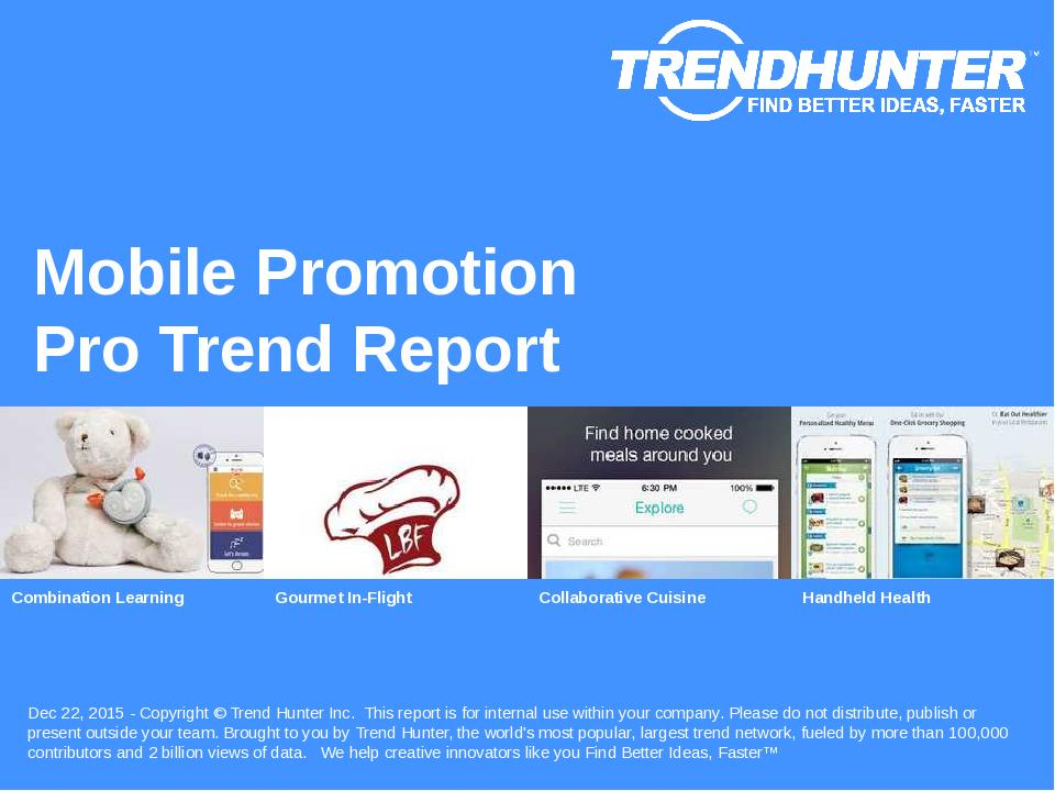 Mobile Promotion Trend Report Research