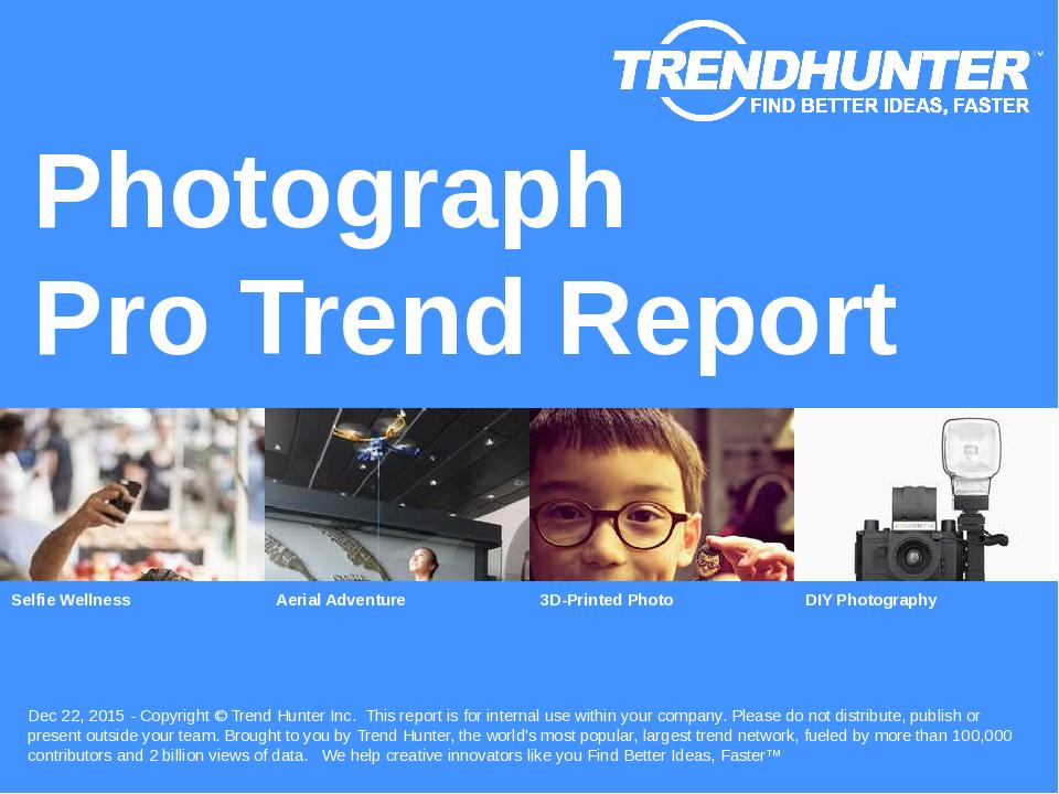 Photograph Trend Report Research