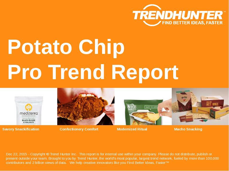 Potato Chip Trend Report Research