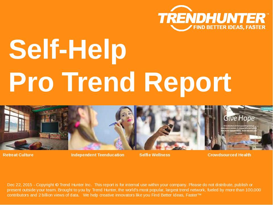 Self-Help Trend Report Research