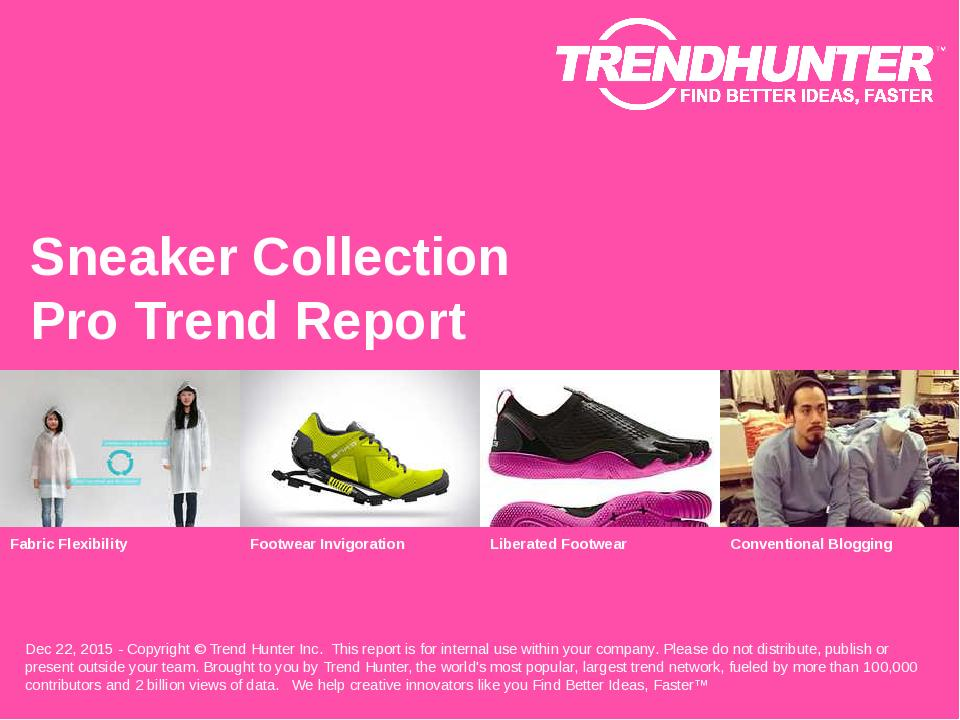 Sneaker Collection Trend Report Research