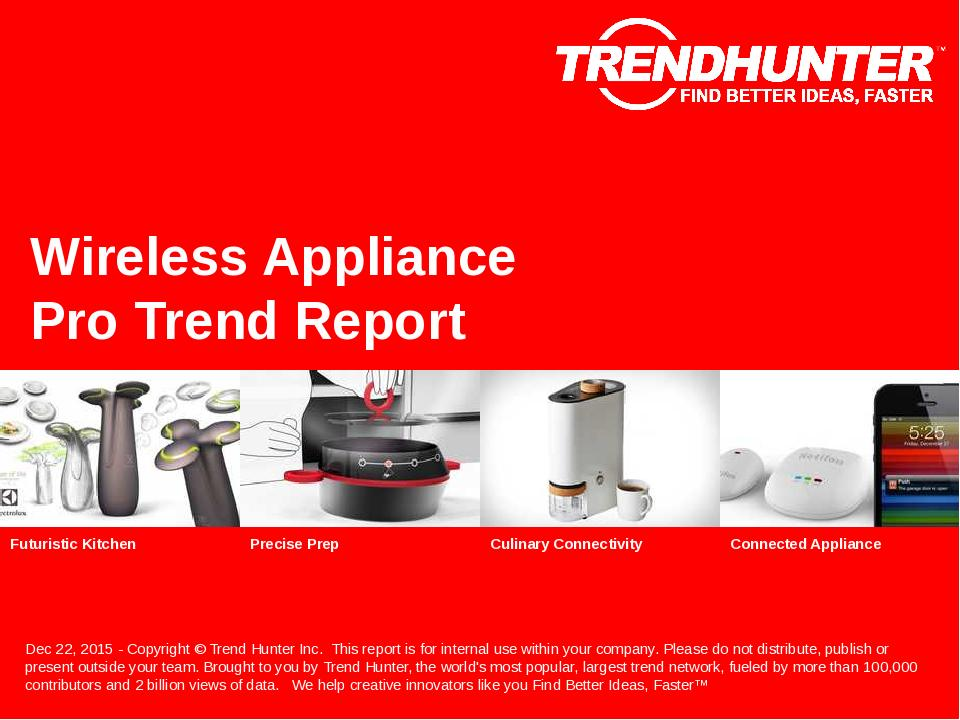 Wireless Appliance Trend Report Research