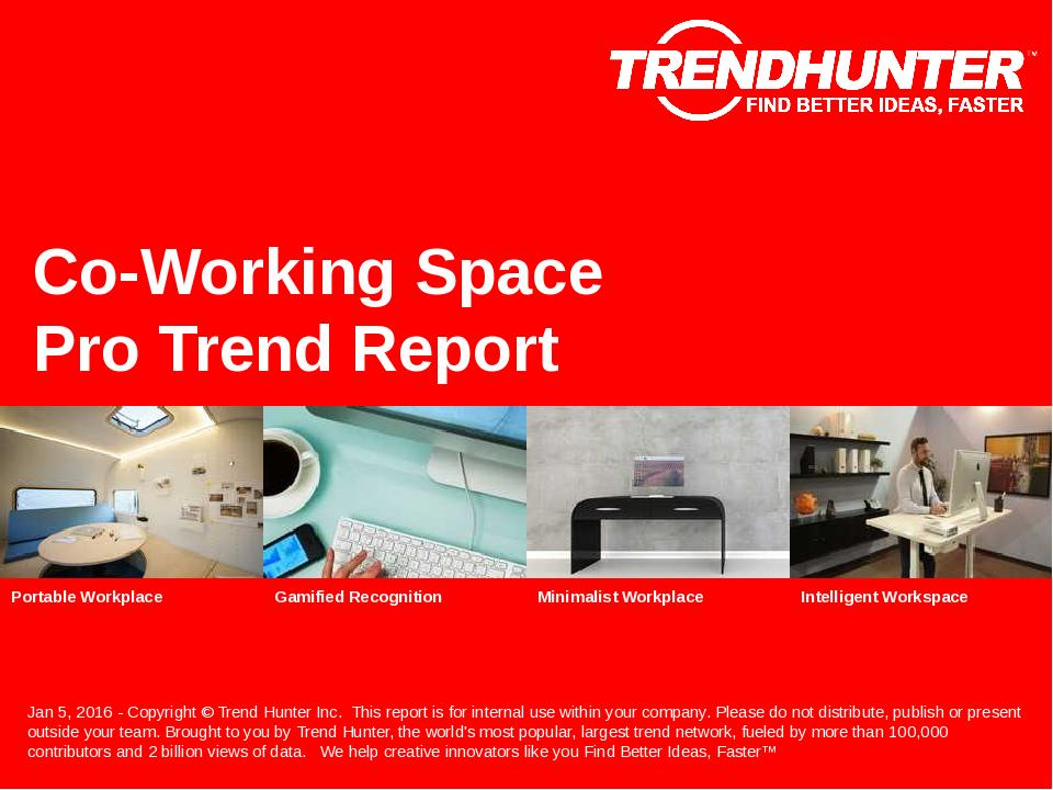 Co-Working Space Trend Report Research
