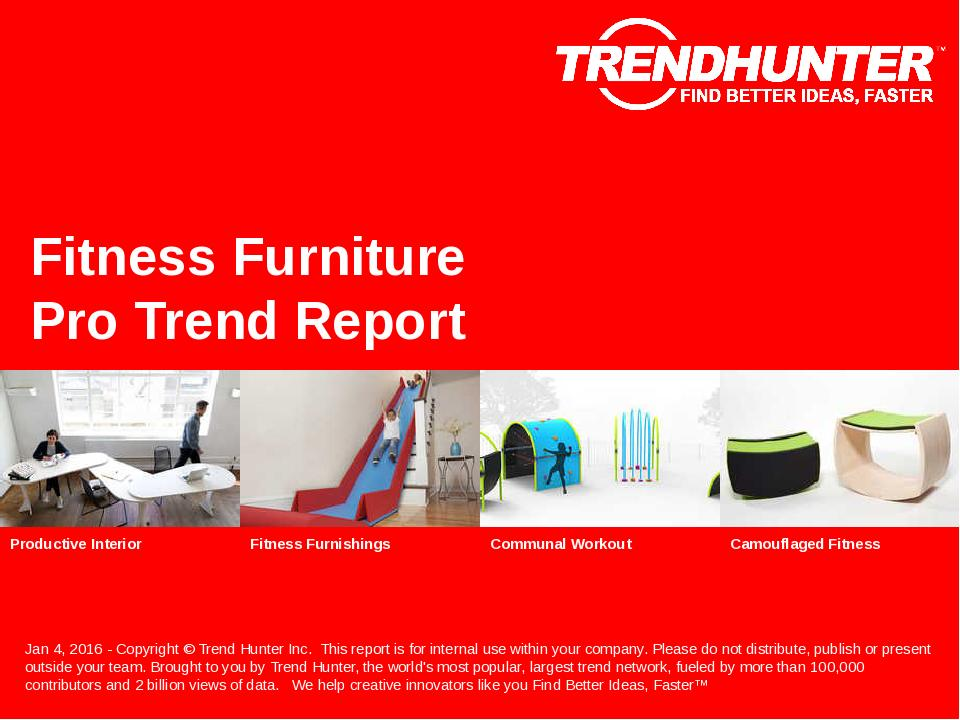 Fitness Furniture Trend Report Research