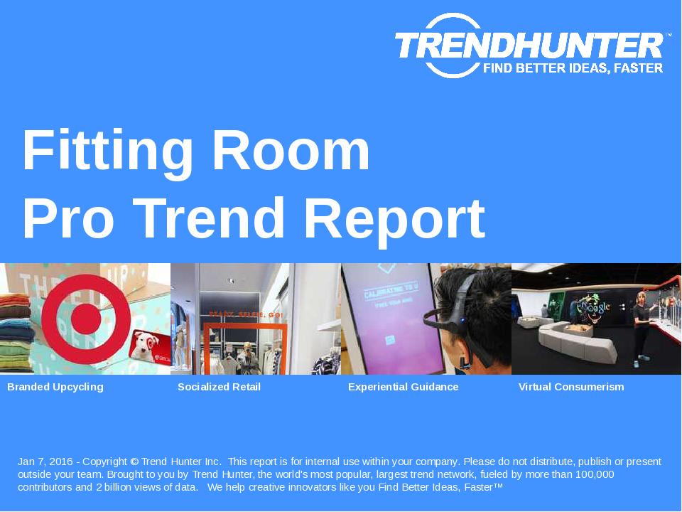 Fitting Room Trend Report Research