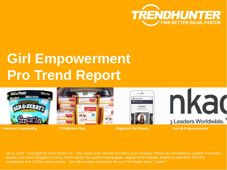 Girl Empowerment Trend Report Research