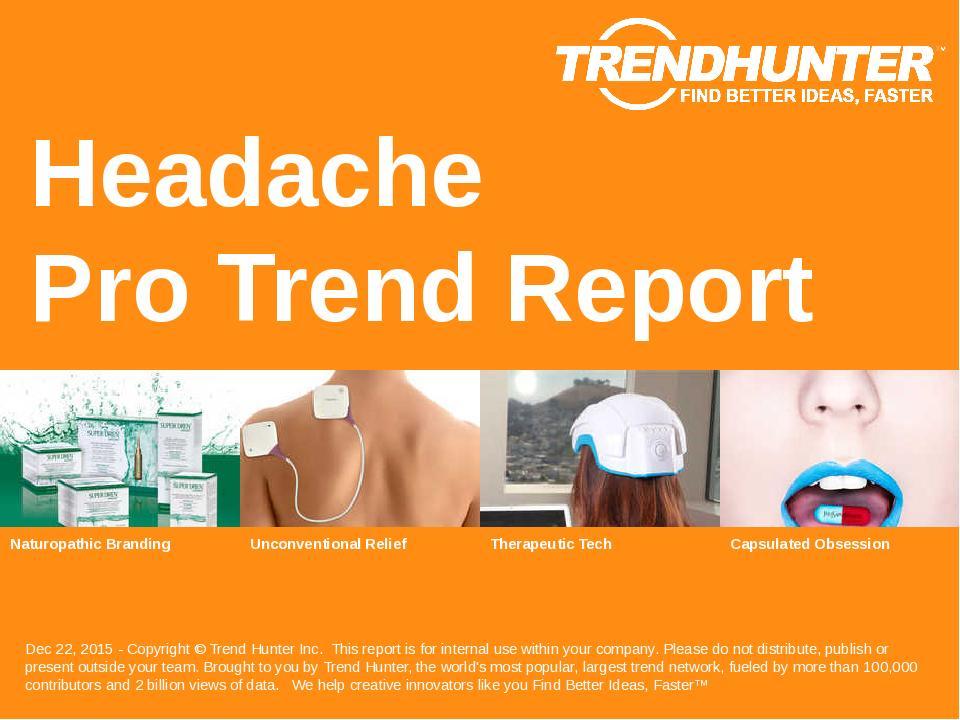 Headache Trend Report Research