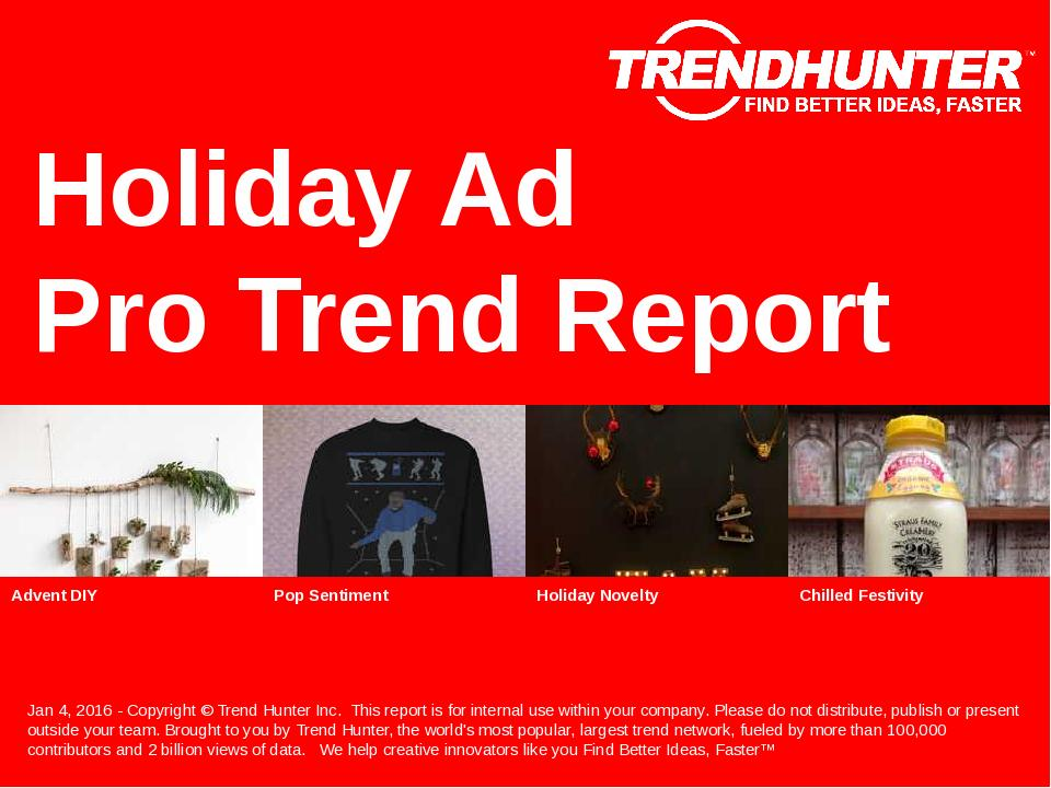 Holiday Ad Trend Report Research