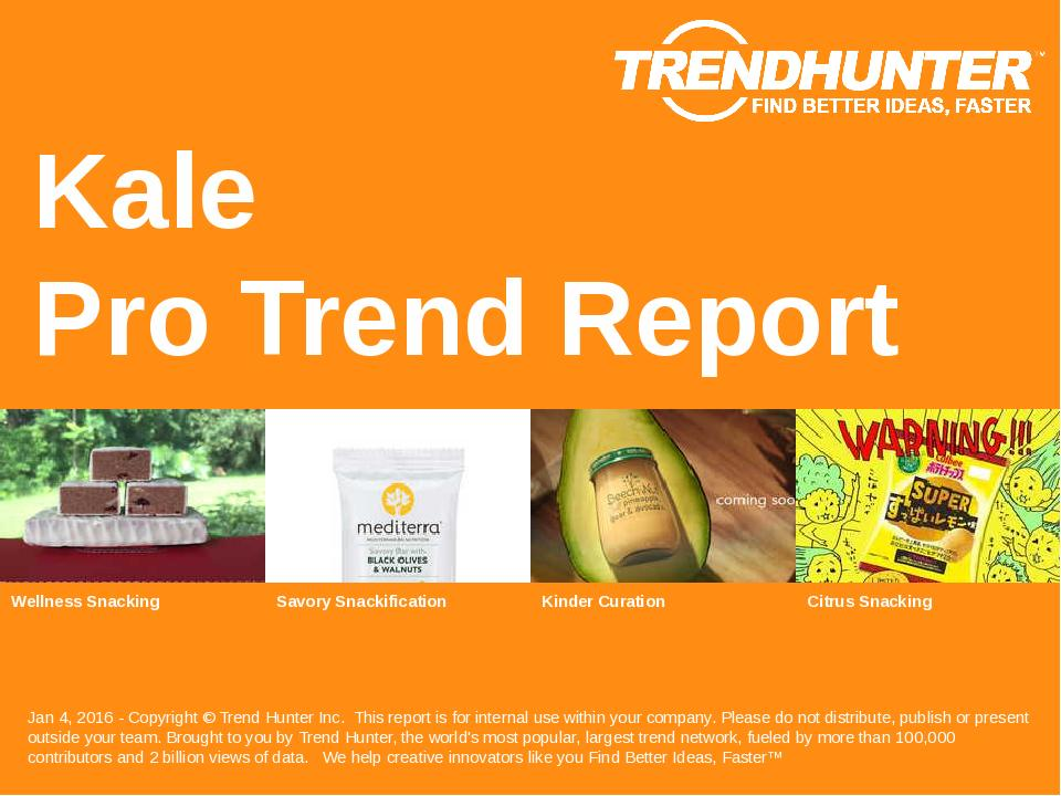 Kale Trend Report Research