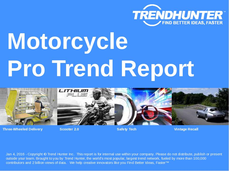 Motorcycle Trend Report Research