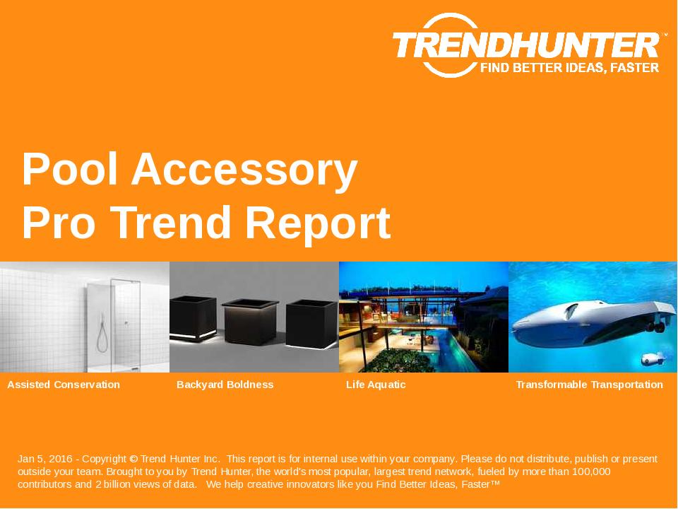 Pool Accessory Trend Report Research