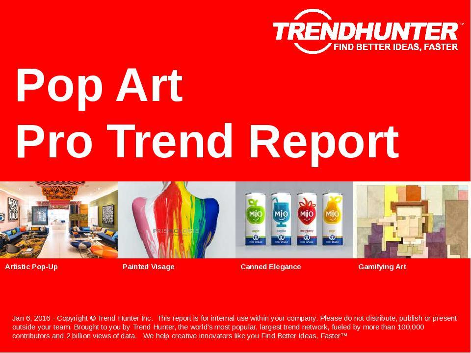 Pop Art Trend Report Research