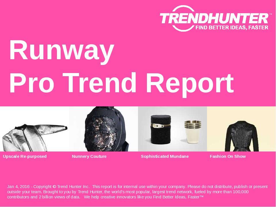 Runway Trend Report Research