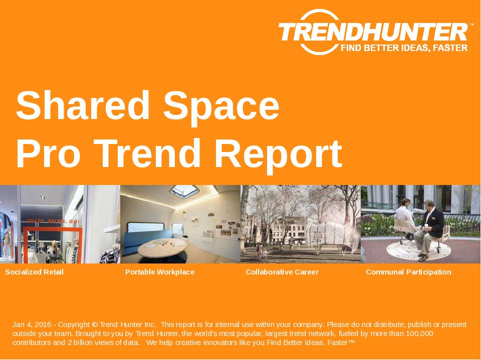 Shared Space Trend Report Research