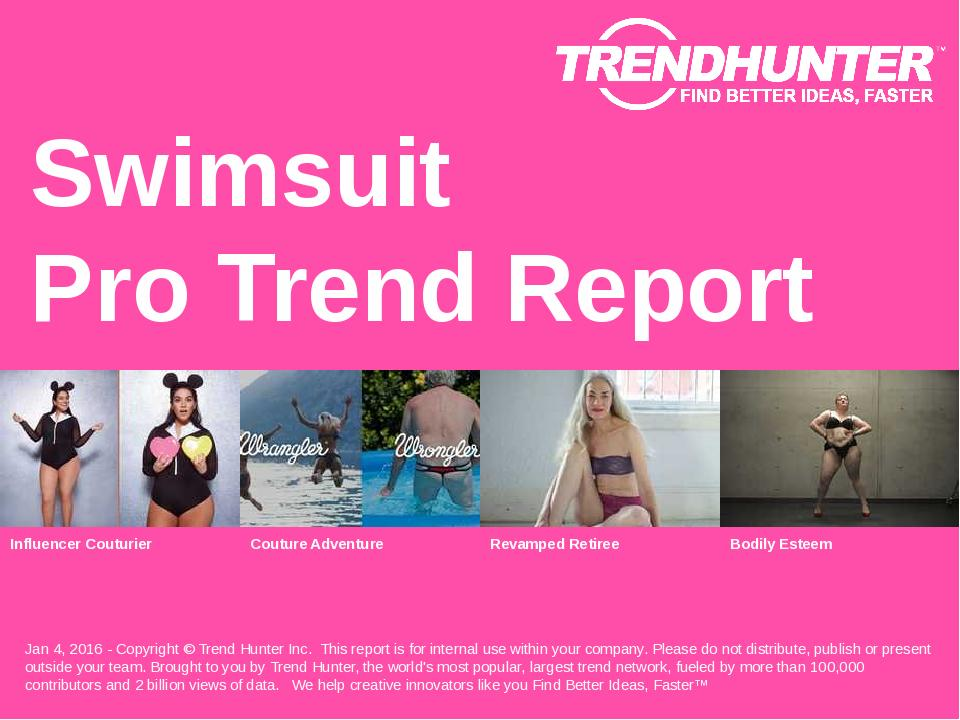 Swimsuit Trend Report Research
