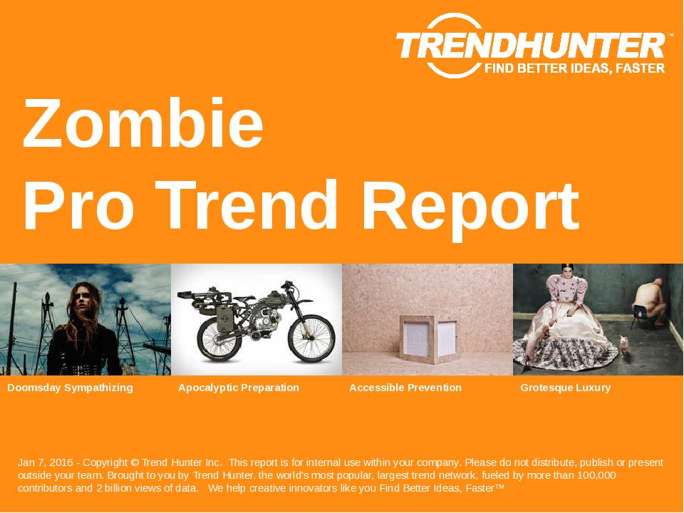 Zombie Trend Report Research