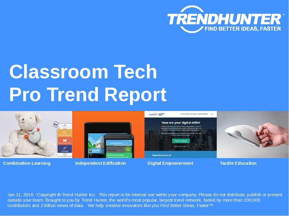 Classroom Tech Trend Report Research