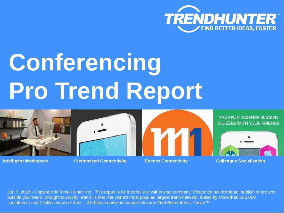 Conferencing Trend Report Research