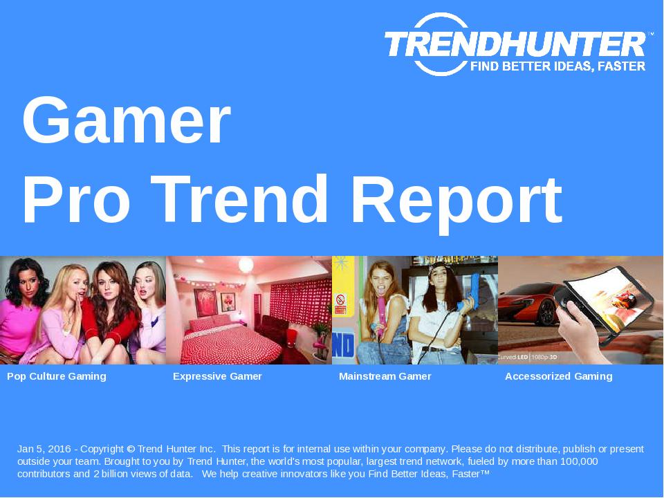 Gamer Trend Report Research