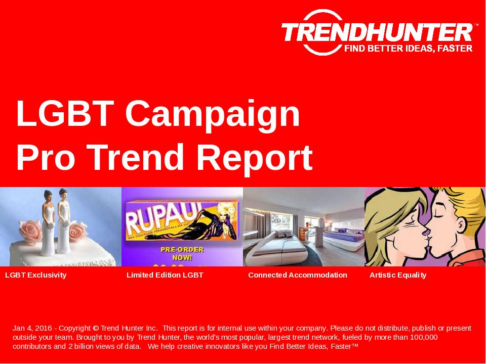 LGBT Campaign Trend Report Research