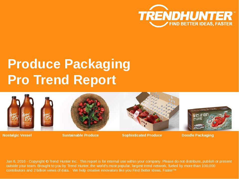 Produce Packaging Trend Report Research