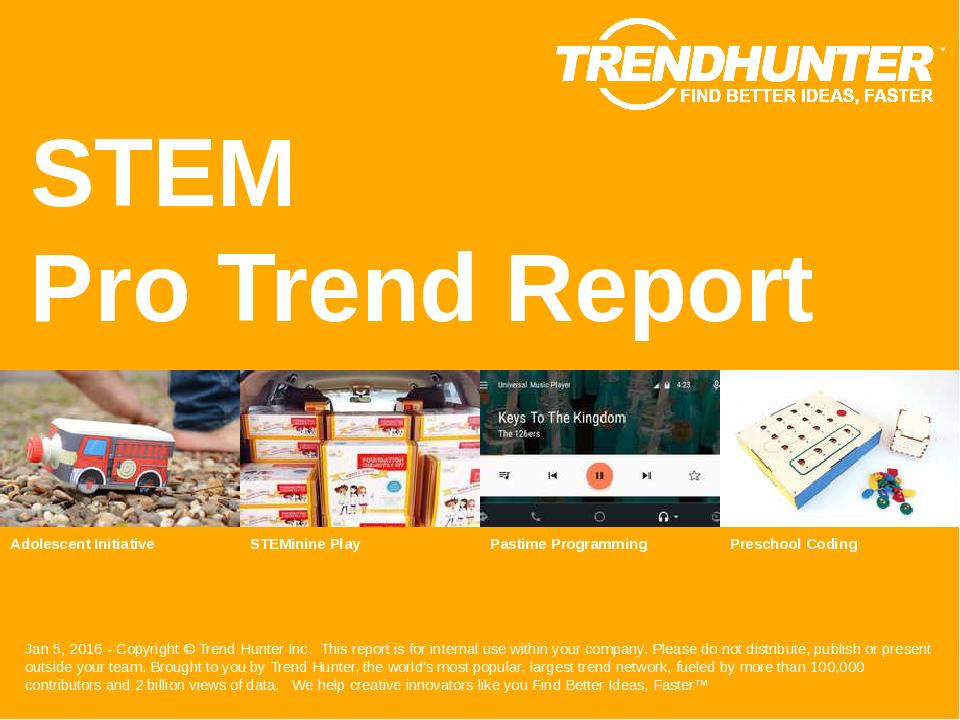 STEM Trend Report Research