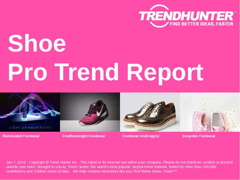 Shoe Trend Report Research